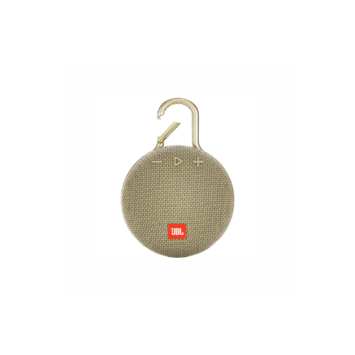 JBL Clip 3 Portable Bluetooth Speaker (Desert Sand)