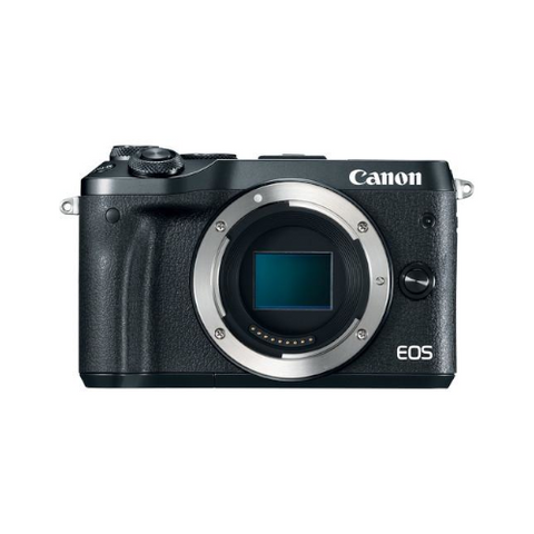 EOS M6 Mirrorless Digital Camera (Body Only, Black)