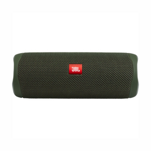 JBL Flip 5 Waterproof Bluetooth Speaker (Forest Green)