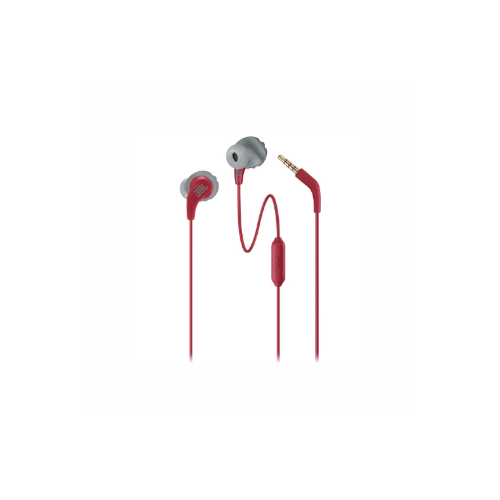 JBL Endurance RUN Sweatproof Wired Sports In-Ear Headphones (Red)