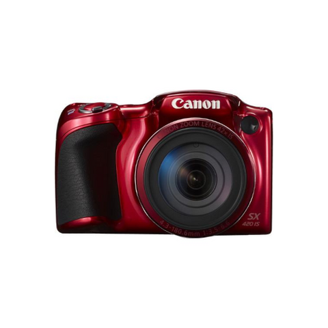 PowerShot SX420 IS Digital Camera (Red)