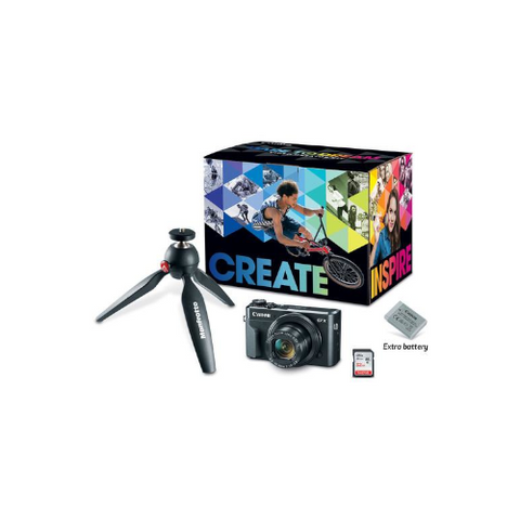 PowerShot G7 X Mark II Digital Camera Video Creator Kit