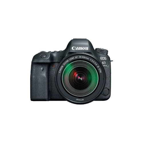 EOS 6D Mark II DSLR Camera with 24-105mm f/3.5-5.6 Lens