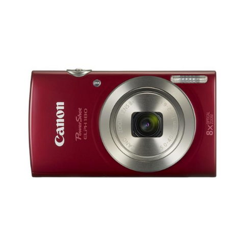 PowerShot ELPH 180 Digital Camera (Red)