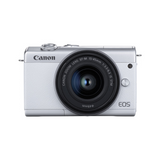 Canon EOS M200 Mirrorless Digital Camera with 15-45mm Lens (White)