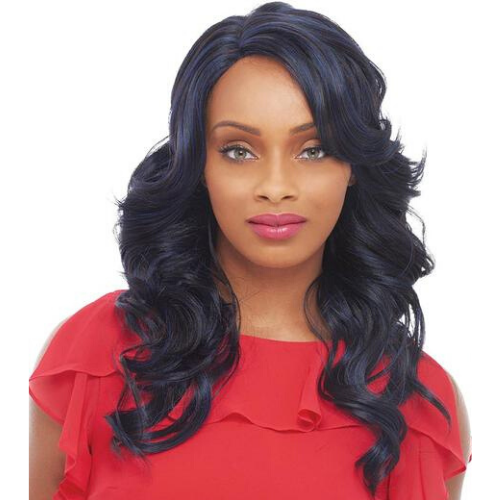 JANET 100%BRAZILIAN HUMAN BLEND HAIR LACE FRONT WIG BELLA