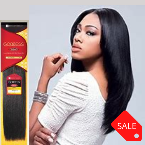GODDESS 100% REMI HUMAN HAIR NATURAL YAKI WVG