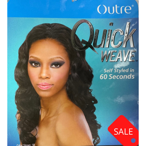 OUTRE QUICK WEAVE SYNTHETIC HALF WIG ANDREA