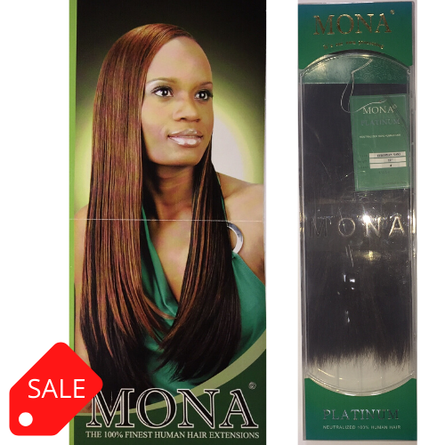 MONA 100% HUMAN HAIR EUROPEAN YAKI