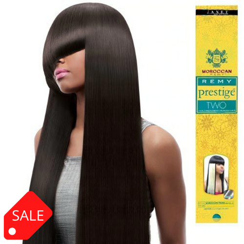 JANET MOROCCAN REMY PRESTIGE TWO 100% VIRGIN REMY HUMAN HAIR