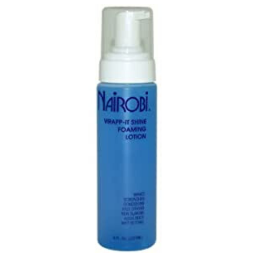 NAIROBI WRAPP-IT SHINE FOAMING LOTION 8OZ