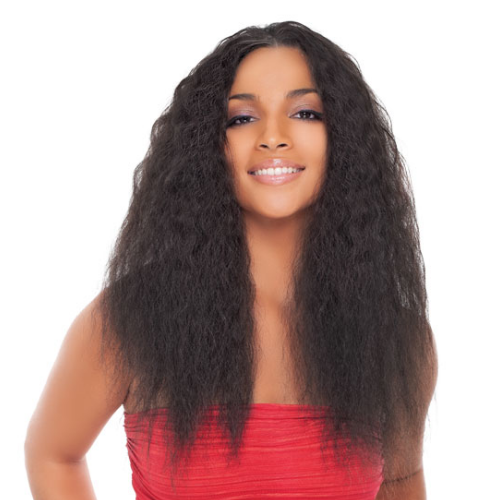 JANET NATURAL ME 100% NATURAL VIRGIN HUMAN HAIR SUPER FRENCH CLIP IN 18