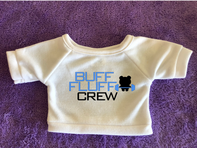 Buff Fluff Crew Plushie Tshirt (Hoodie Available)
