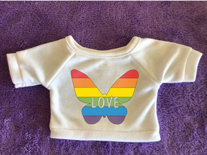 Butterfly Love Plushie Tshirt (Hoodie Available)