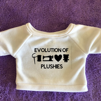 Evolution of Plushies Tshirt or Hoodie