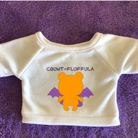Count-Fluffula - Plushie Tshirt (Hoodie Available)