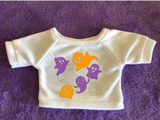 Glow-in-the-Dark Ghosts - Plushie Tshirt (Hoodie Available)