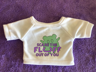 Scare the Fluff out of you - Plushies Tshirt (Hoodie Available)