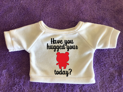 Have You Hugged Your Plushie Today - Plushie Tshirt or Hoodie