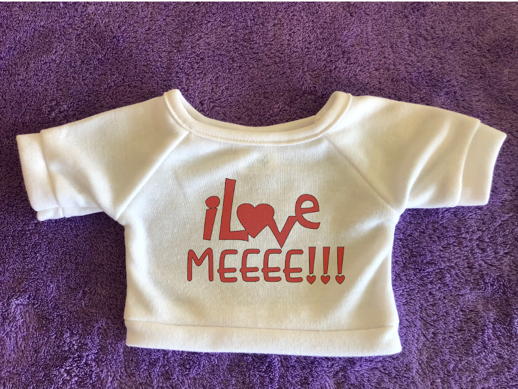 I Love Meeee Plushie Tshirt (Hoodie Available)