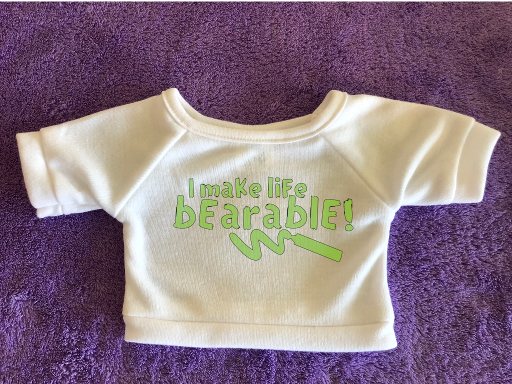 I Make Life Bearable Plushie Tshirt (Hoodie Available)
