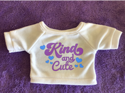 Kind and Cute Plushie Tshirt (Hoodie Available)