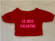 Little Miss Valentine, Tshirt or Hoodie