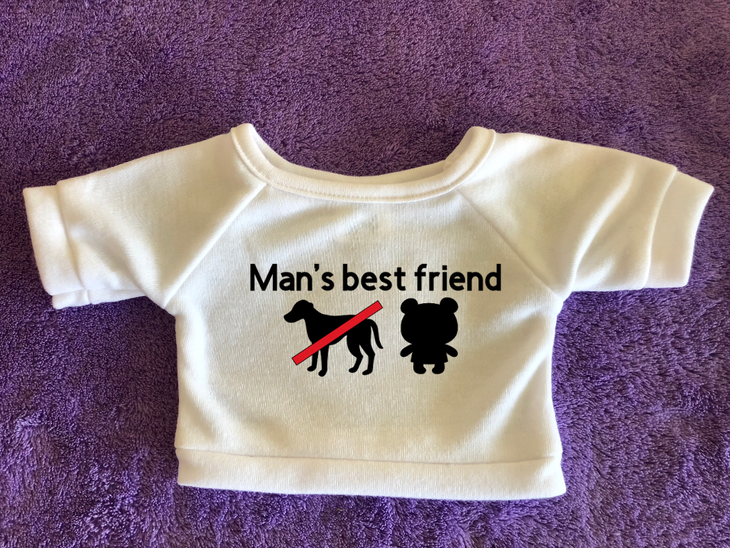 Man's Best Friend Tshirt (Hoodie Available)