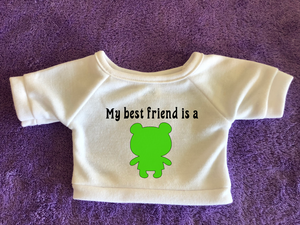 My Best Friend is a Plushie - Plushies Tshirt or Hoodie