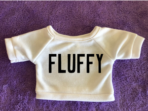 "One Word Wonder ""Fluffy"" Plushie Tshirt (Hoodie Available)"