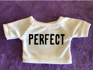 "One Word Wonder ""Perfect"" Plushie Tshirt (Hoodie Available)"