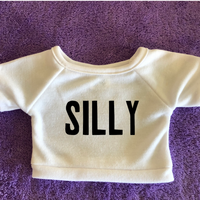 "One Word Wonder ""Silly"" Plushie Tshirt (Hoodie Available)"