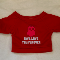Owl Love You Forever, Tshirt or Hoodie