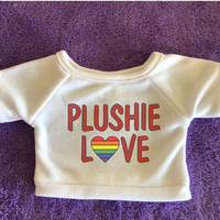 Plushie Love Plushie Tshirt (Hoodie Available)