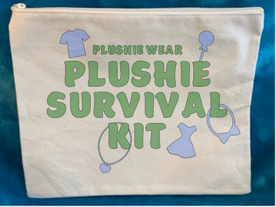 Plushie Survival Kit - Zippered Pack