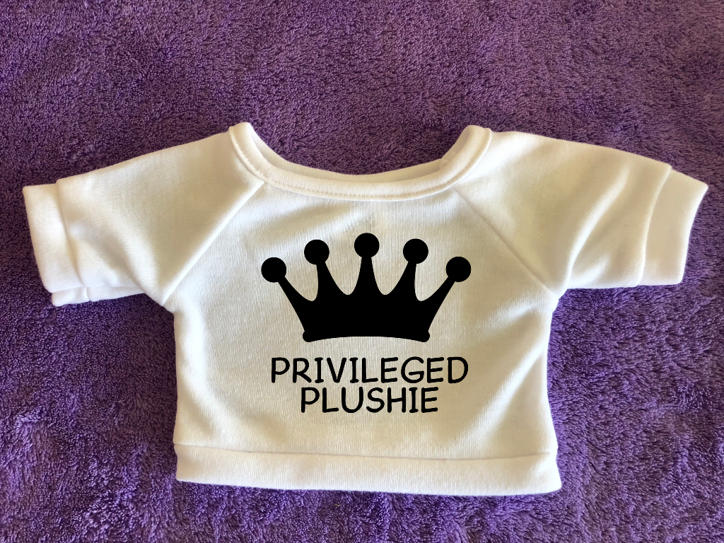 Privileged Plushie Tshirt (Hoodie Available)