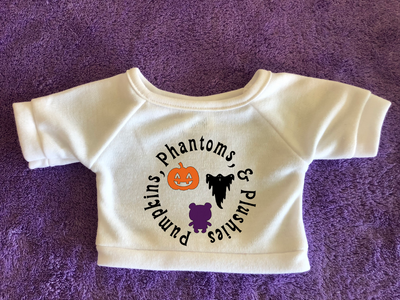 Pumpkins Phantoms and Plushies - Plushies Tshirt or Hoodie