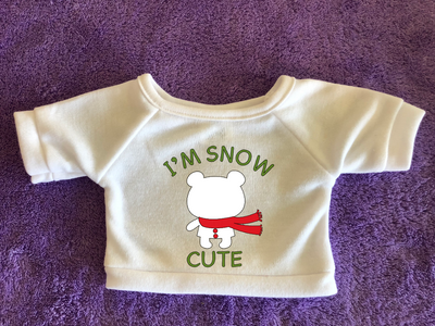Snow Cute, Tshirt (Hoodie Available)