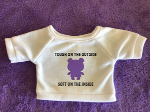 Tough on Outside Soft on Inside Tshirt (Hoodie Available)