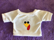 Turkey Face Plushie Tshirt or Hoodie