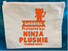 Protected by Ninja Plushie - Zippered Pack