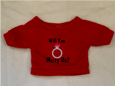 Will You Marry Us, Tshirt or Hoodie