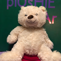 Cosby, White Teddy Bear