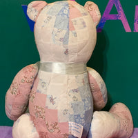 Ava, Patchwork Teddy Bear