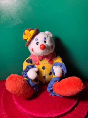 Juggles, Ty Clown Teddy Bear