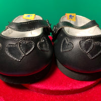 Black Dress Shoes Heart Accents - Build-a-Bear Resale