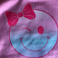 Smiley Face Tshirt Pink - Build-a-Bear Resale