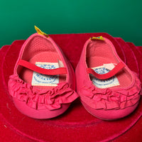 Pink Dress Shoes with Ruffles - Build-a-Bear Resale
