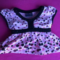 Pink Dress Polka Dot Design - Build-a-Bear Resale