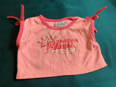 Fashion Princess Shirt - Build-a-Bear Resale